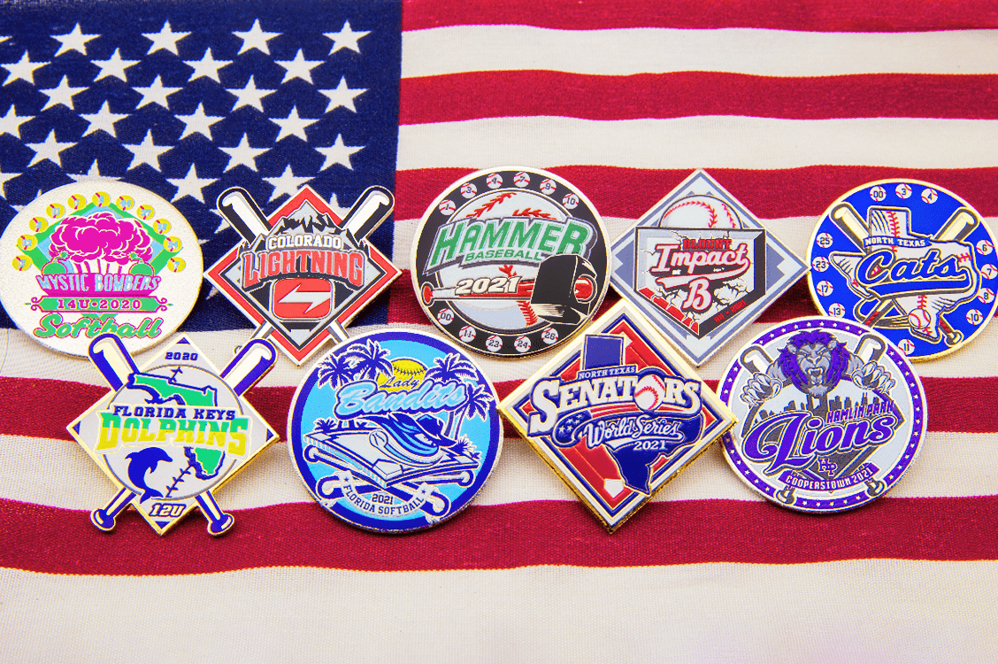Made in the USA Rush Pins