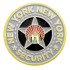 New York New York hotel and casino challenge coin back