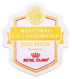 National Championship Dog Show patch by Signature Patches
