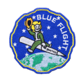 Blue Flight Embroidered patch by Signature Patches