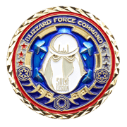 Blizzard Force Comman 501st legion - translucent - front