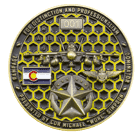 Rampage Challenge Coin Back