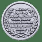 Orange County Public Schools Challenge Coin Back