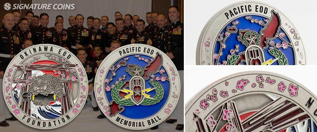 signaturecoins-notsoflatedge-Okinawa-foundatin-memorialball-coin