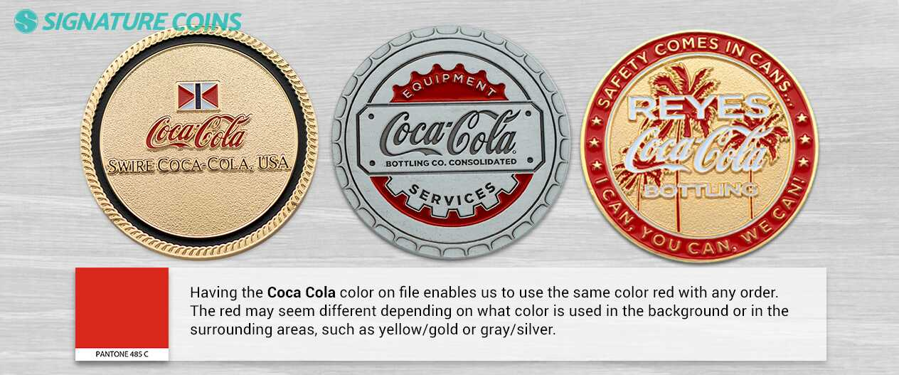 signature-coins-coca-cola-pantone-colors
