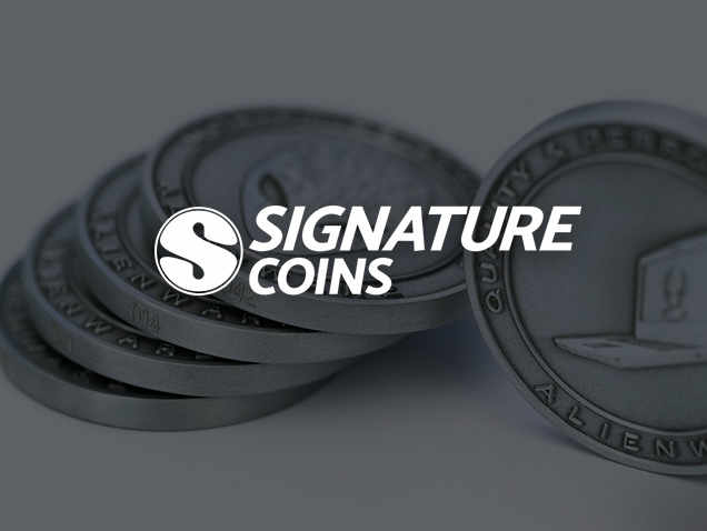 Signature Coins Alienware PC Gamer Coins