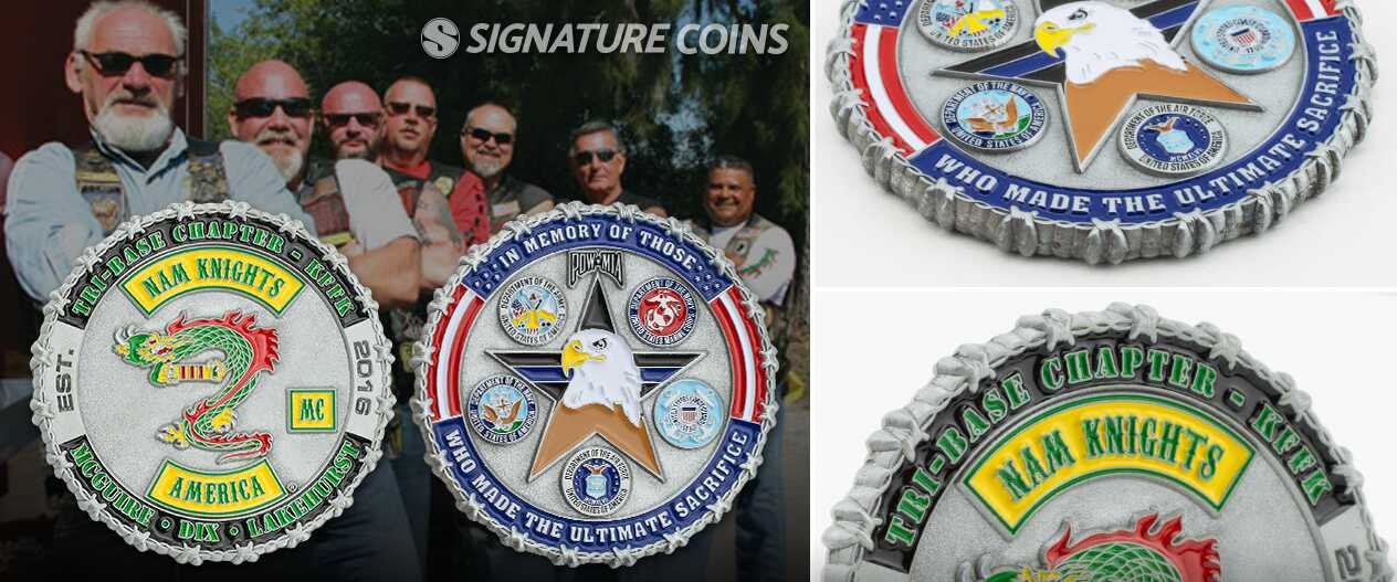signature-coins-CustomEdges-Nam Knights-Motorcycle2