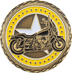 Gold Coast Wheelers Challenge Coin Side 1