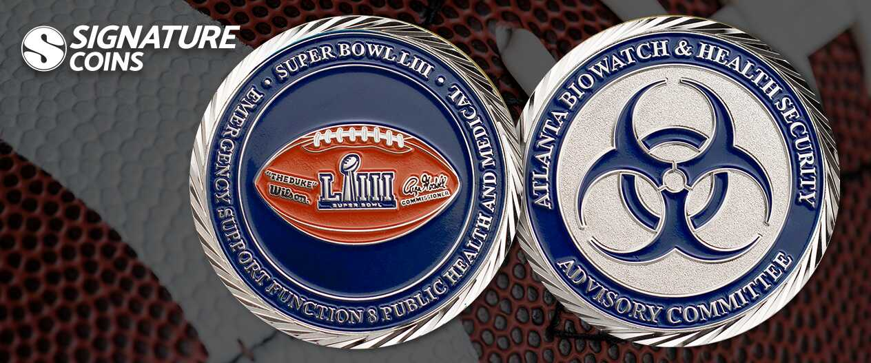 SignatureCoins-football-Atlanta-BioWatch-Health-Security-coin
