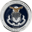 Air Force Chaplain Corps College Challenge Coin