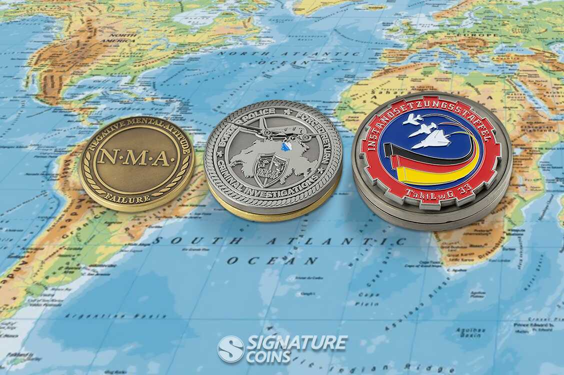 International Challenge Coins