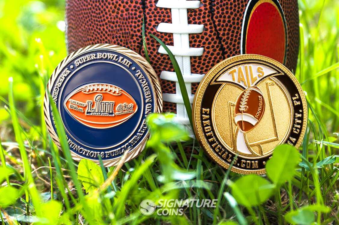 Sports Challenge Coins