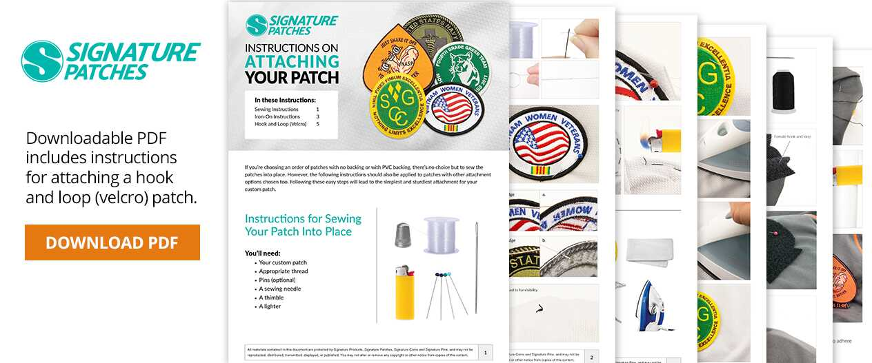 SignaturePatches-Attaching-Your-Patch-DownloadablePDF
