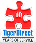 Tiger Direct 10 Years