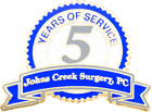 Johns Creek Surgery 5 Years