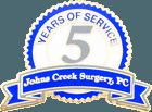 Johns Creek Surgery 5 Years