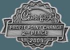 Chick-fil-A Manager Bonus Pin