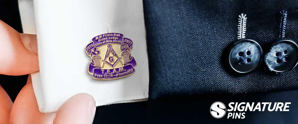 SignaturePins-Grand-Master-of-the-Freemasons-Prince-Hall-Grand-Lodge-Cufflinks