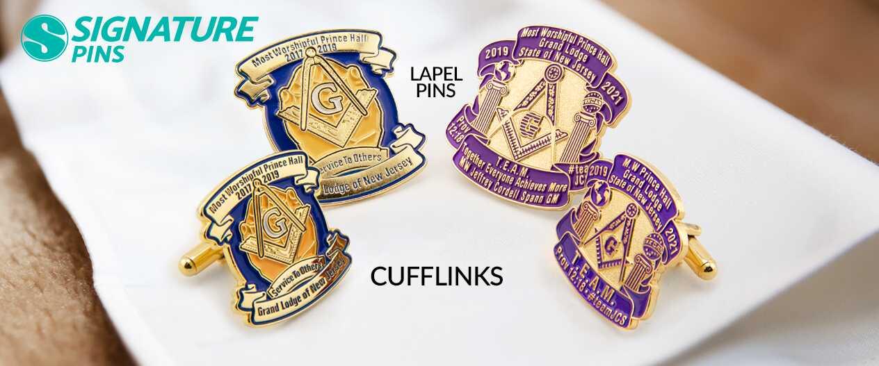 SignaturePins-Grand-Master-of-the-Freemasons-Prince-Hall-Grand-Lodge-Cufflinks-Lapel-Pins