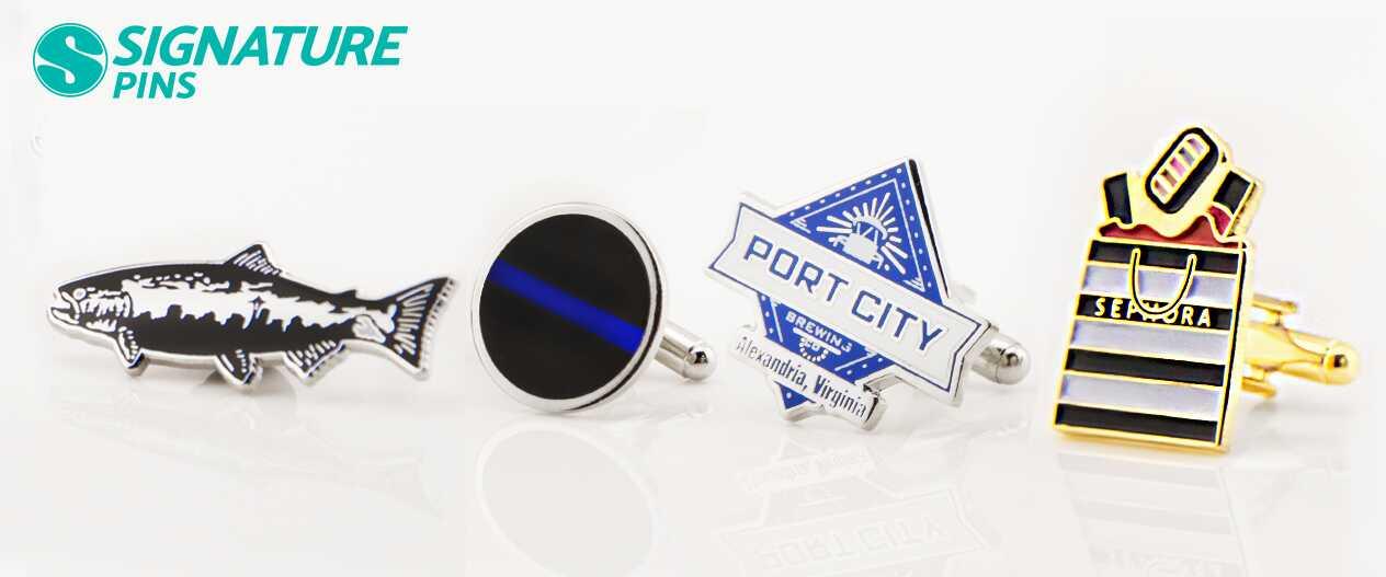 SignaturePins-Port-City-Brewing-Sephora-Cufflinks