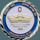 Pentagon FBI Challenge Coin