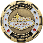 Lucky In Love Challenge Coin