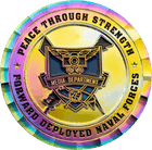 USS Ronald Reagan Media Department Challenge Coin