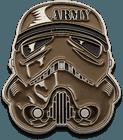 Army Stormtrooper Helmet Challenge Coin