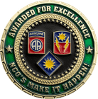 Commander Challenge Coin Awarded For Excellence