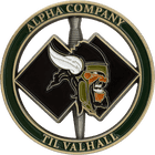 Alpha Company Challenge Coin