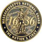 Massachusetts National Guard Challenge Coin