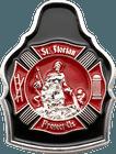 3D St. Florian Challenge Coin