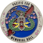 Okinawa EOD Foundation Challenge Coin Back