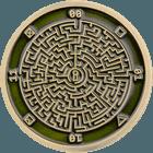 Google Maze Puzzle Coin