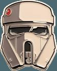 Sand Trooper Helmet Challenge Coin side 1