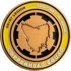 501st Copperhead Squad Challenge Coin Side 2