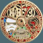 Florida Garrison Challenge Coin