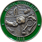 3D Critical Incident Team Challenge Coin
