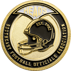 Football Flipping Coin