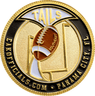 Football Flipping Coin Back