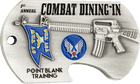 Combat Dining Bottle Opener Coin Side 2