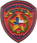 Texas Highway Patrol Challenge Coins