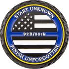 Thin Blue Line Challenge Coin Side 2
