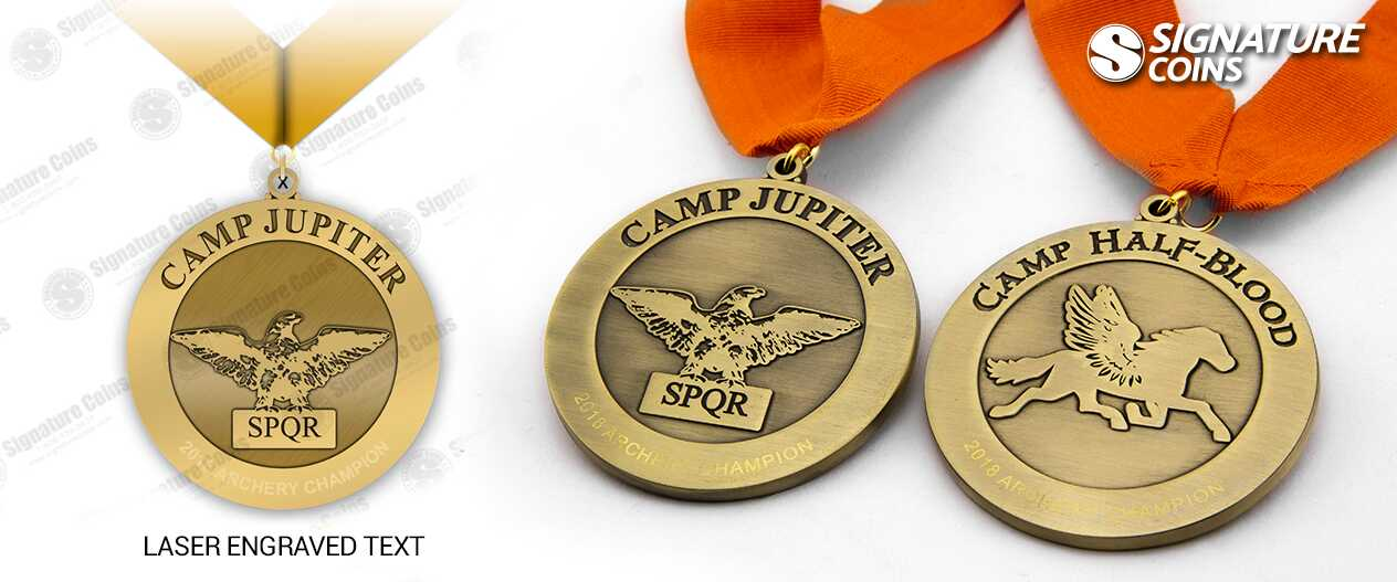 SignatureCoins-Between the Pages-Camp-Half-Blood-medals