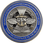 USN Navy Photographers mate Challenge Coin