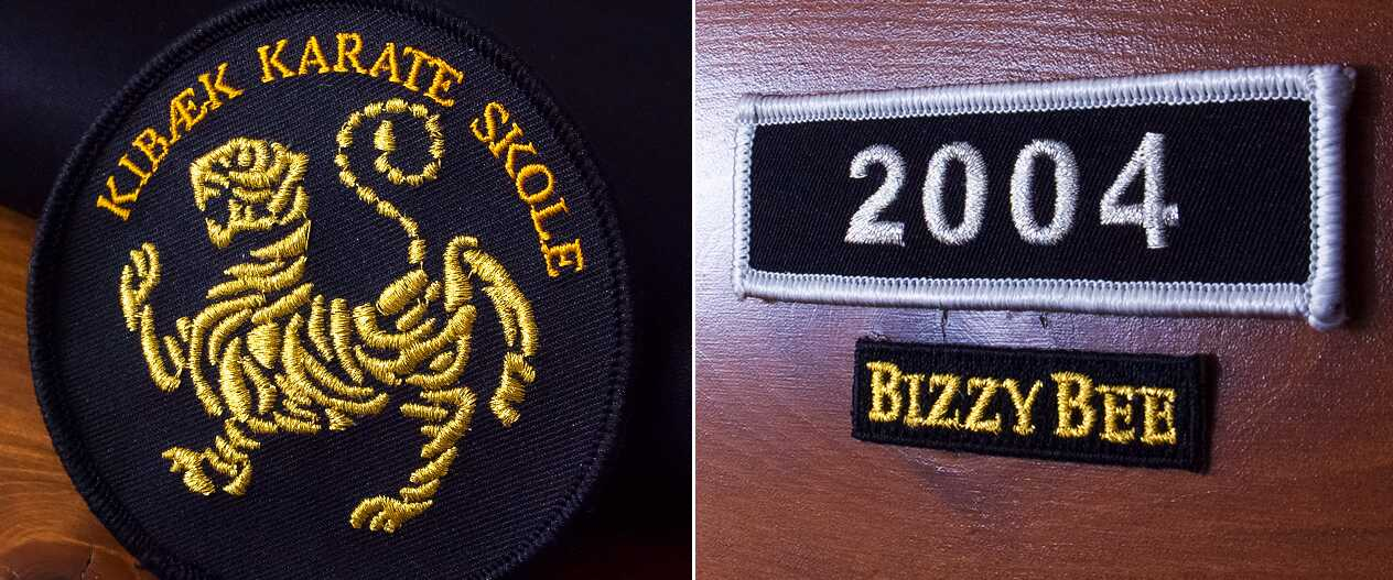 SignaturePatches-Karate-Patch-BuzzyBee-Patch