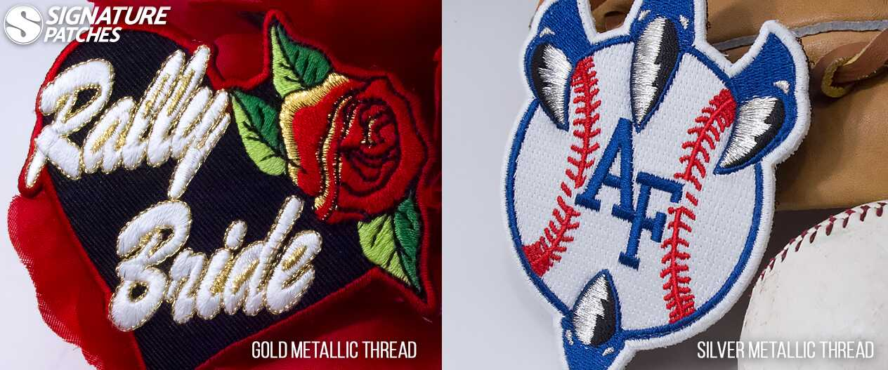 SignaturePatches-Metallic-Thread-RallyBride-Baseball-Patch