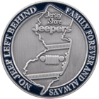 Jersey Shore Jeepers Challenge Coin side 2