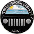 Jersey Shore Jeepers Challenge Coin