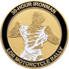 LDR Motorcycle Rally Challenge Coin side 2